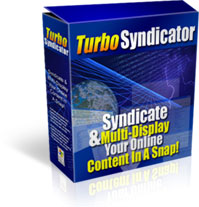 Turbo Syndicator - Update Thousands of WebSites in Seconds
